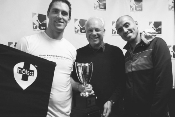 Halsa sponsors Professional Squash Tour
